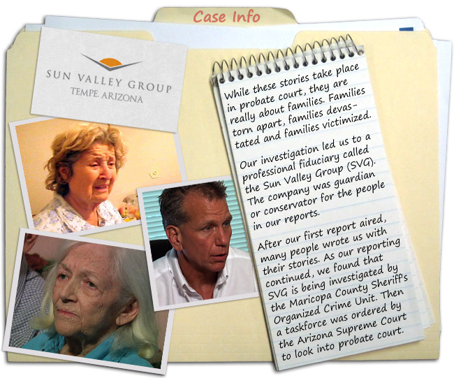 2010 exposing serious flaws surrounding Maricopa County Probate Court.