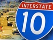 Semi truck collision shuts down I-10