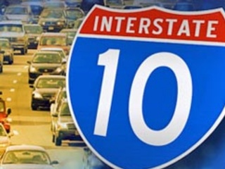 One person killed in I-10 crash at Riggs Road