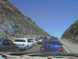 ADOT: Highways out of the Valley slow on Sat.