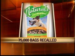 Recall issued for doggie treats over salmonella fear