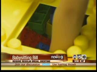 California requires babysitters job-like perks