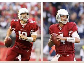 John Skelton and Kevin Kolb