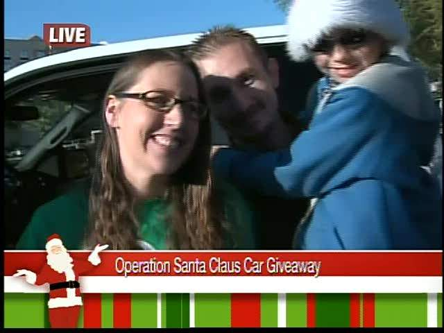 operation santa claus 2011. Operation Santa Claus car giveaway. Video; Photo
