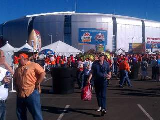 Fiesta Bowl crowd