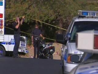 Scottsdale officer-involved shooting scene