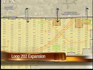 New proposal to Loop 202 extension