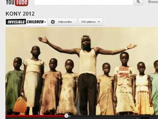 Kony 2012 aims to raise awareness of Joseph Kony