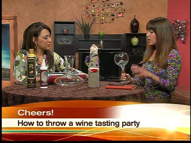 Throw a wine tasting party at home