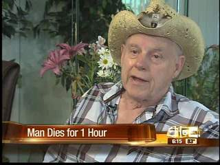 Man wakes up after being dead for over an hour