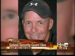 Phoenix school employee found dead on campus