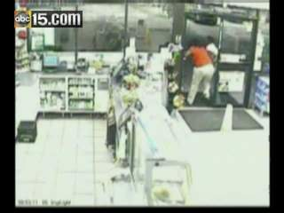 VIDEO: Woman set on fire outside Florida convenience store