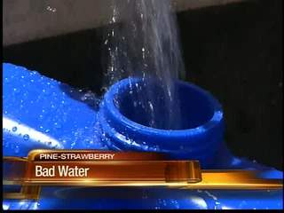 Arizona community stuck without water