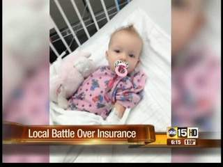 Valley baby suffering from debilitating disease