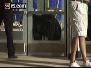 Bear runs into Sears via automated door