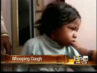 Whooping cough on rise in Arizona