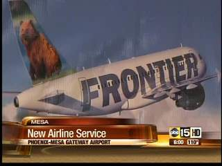 Frontier Airlines expanding service to Denver from Mesa Gate