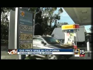 Will CA gas supplies affect AZ prices?