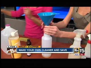 How to save money on household cleaners