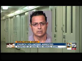Valley church volunteer arrested