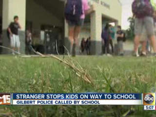 PD: Man tried to lure 2 Gilbert kids