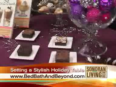 Creating stylish holiday tables