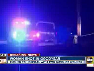 Goodyear woman shot