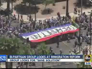Bi-partisan group looks at immigration reform