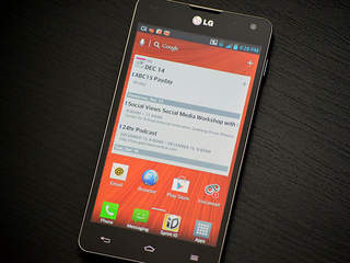 LG Optimus G Android Smartphone on Sprint