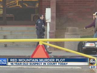 Red Mountain Murder Plot