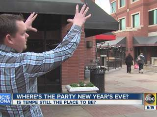 Where's the party New Year's Eve?
