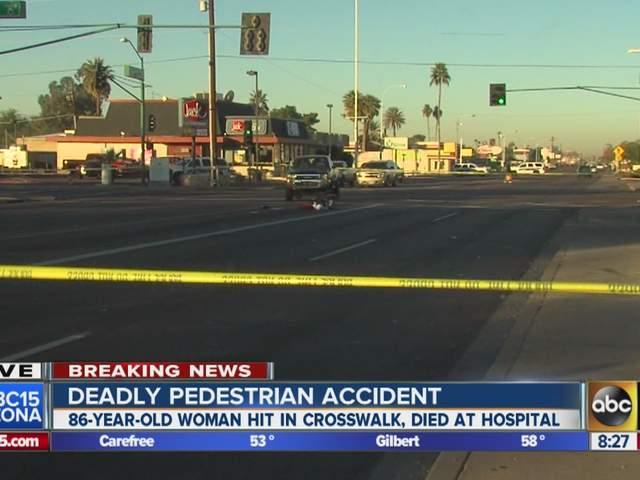 Fatal Accident Kills Woman In Central Phoenix Abc15 Arizona