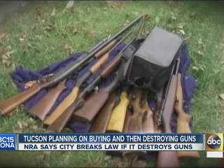 Tucson gun buyback program stirs debate