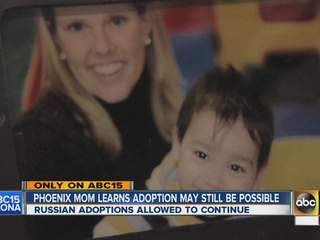 Phoenix mom learns adoption may still be possible