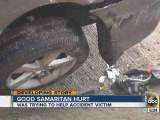 Good samaritan hurt in the North Valley