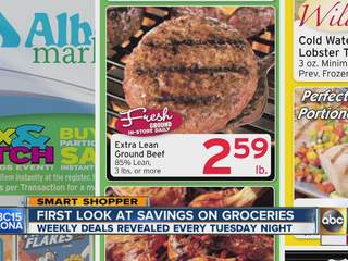 First look at savings on groceries