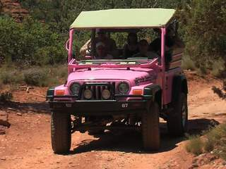 Vroom! 50% off Pink Jeep tours