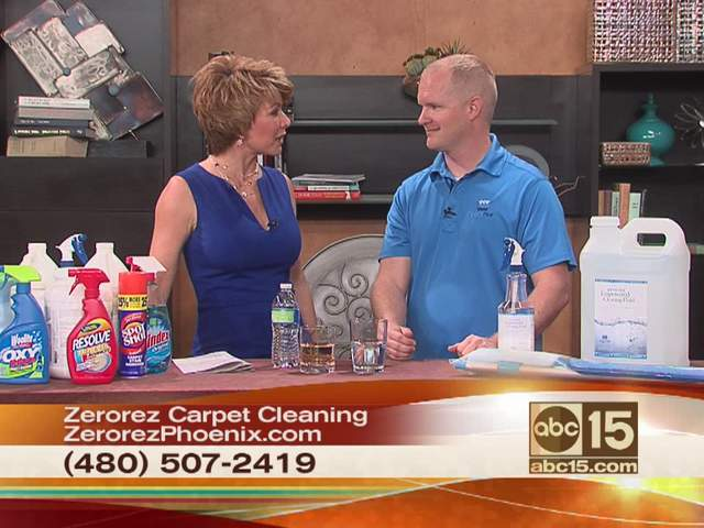 There is a different way to clean carpets