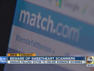 What are the telltale signs of online dating scam