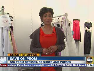 Save on prom dresses