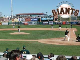 Scottsdale Stadium: San Francisco Giants