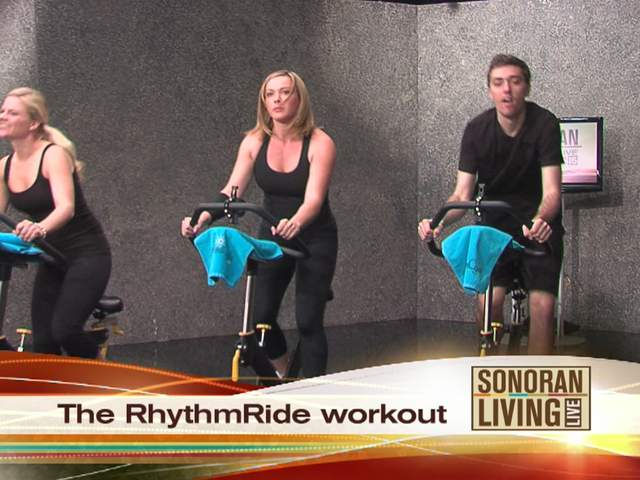 Full body workout on a spin cycle