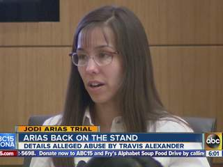 Jodi Arias trial: Valley woman begins testifying about day of killing