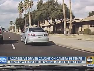 Dashboard camera catches