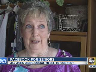 Facebook for senior citizens