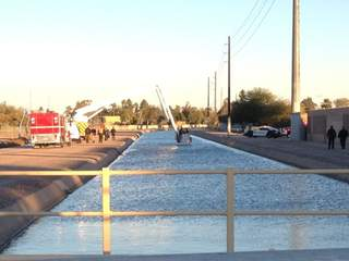 PD: Man's body found in Tempe canal