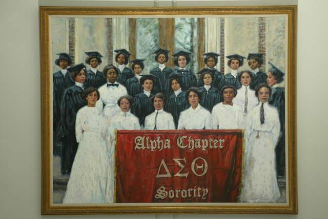 The 22 original founders of Delta Sigma Theta sorority from Howard University