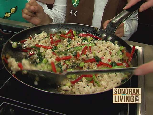 Girl Scouts help whip up healthy dishes