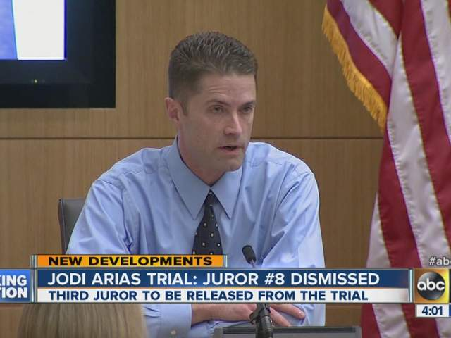 ... Arias juror excused: Another juror released in Jodi Arias murder trial