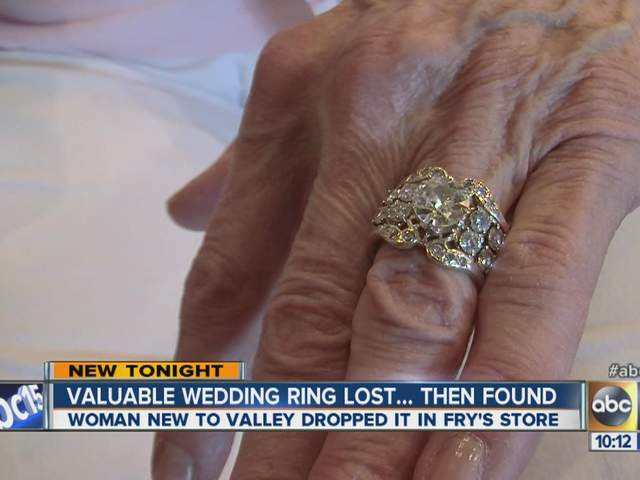 50 year old wedding ring lost then returned to owner - Lost Wedding Ring